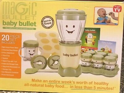 Magic Baby Bullet Complete Food Blender Processor SystemMagic Baby Bullet NEW