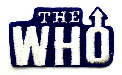 Toppa Patch The Who - English Rock Band, Gruppo Musicale, cm 8,8 x 5,1