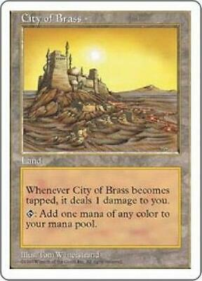 City of Brass NM MTG Fifth Edition 5th Magic