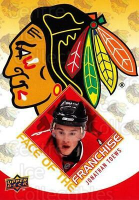 2009-10 Upper Deck Face of the Franchise #10 Jonathan Toews