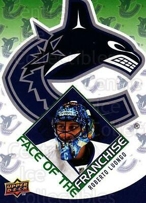 2009-10 Upper Deck Face of the Franchise #5 Roberto Luongo