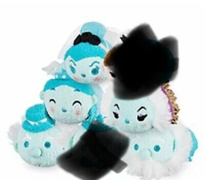 2016 DISNEY PARKS EXCLUSIVE TSUM TSUM HAUNTED MANSION SET OF 5 Perf. 4 Halloween