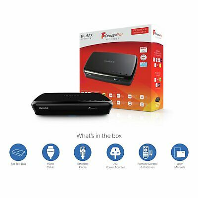Humax FVP5000T-1TB Smart Freeview Play HD TV Recorder