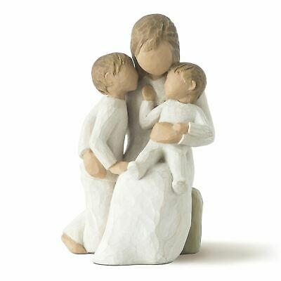 Willow Tree Quietly Figurine Resin Mother's Day Mum Keepsake Ornament Gift Box