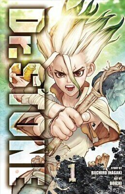 Dr. STONE, Vol. 1 by Riichiro Inagaki 9781974702619 | Brand New