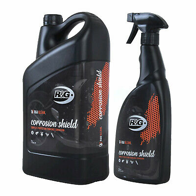 R&G Gleam - Motorcycle Anti-Corrosion Protection Spray 750ml Trigger + 5L Refill