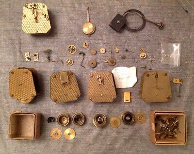 Newbridge Clock Movements Ex Clockmakers Collection Spare Parts Platform Escapes