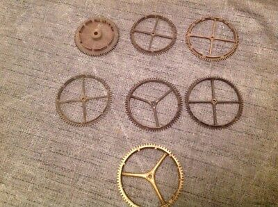 LONGCASE CLOCK PARTS COGS COUNT WHEELS 57 60 65 3x66 & 70mm  CLOCKMAKERS SPARES