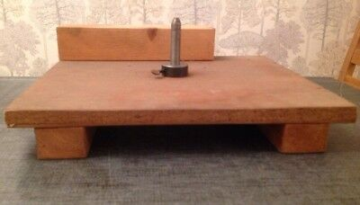 """Clockmakers Engineered Fool Stand Adjustable Height 13""""X11"""""""