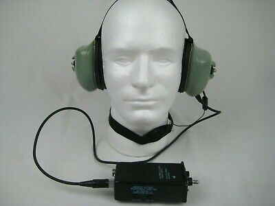David Clark H7140 Headset and Model V7100 Portable Vox-TM  18835G-01 TM-1 Mic