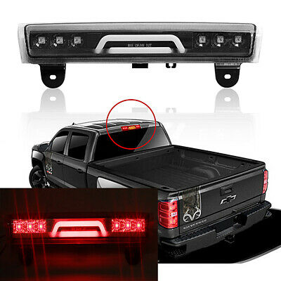 3D LED BAR CLEAR 3RD THIRD BRAKE LIGHT LAMP For 00-06 CHEVY TAHOE/SUBURBAN/YUKON