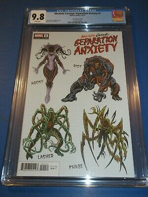 Absolute Carnage Separation Anxiety #1 Level Variant CGC 9.8 NM/M Gem