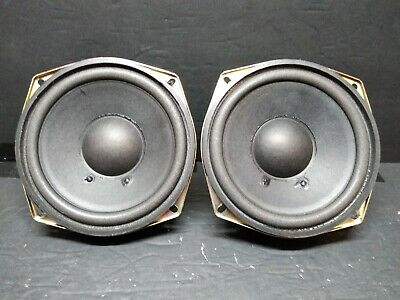 """klh pair of 5.25"""" subwoofers"""