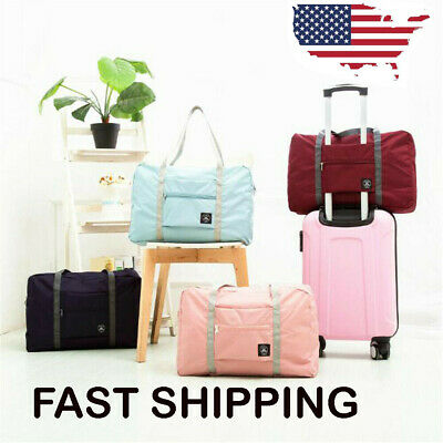 NEW Luggage Bag Travel Lightweight Waterproof Foldable Large Portable Storage