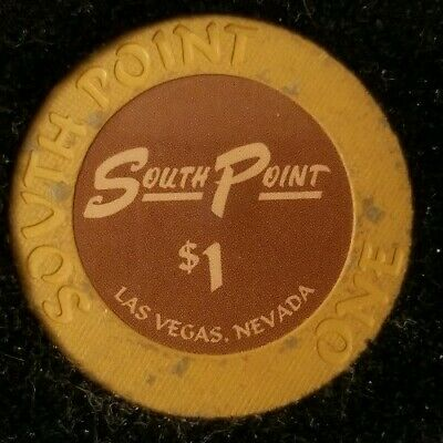 $1 Casino South Point Chip Poker Las Vegas, Nevada NV Gaming Hotel