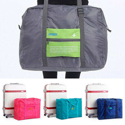 Portable Foldable Travel Luggage Waterpoof Baggage Storage Duffle Bag 5 Colors