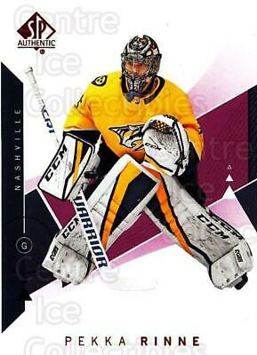 2018-19 Sp Authentic Red #39 Pekka Rinne