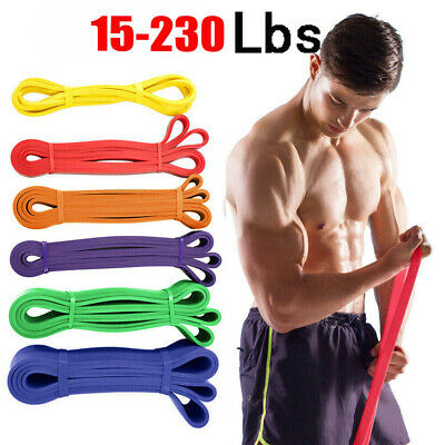 Resistance Exercise Heavy Duty Bands Tube Gym Fitness Premium Natural Latex New