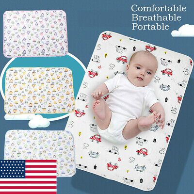 Practical Baby Changing Soft Cotton Pad Liner Cover Wipe Infant Diaper Mat
