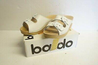 Baldo Bianco Spring-Heeled Clog Sandals (UK Size 5.5)