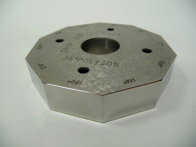 Hilger & Watts 10sid 36Deg Polygon for Autocollimator Microoptic Alignment Laser