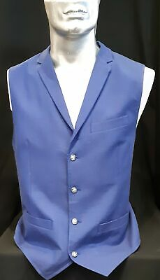 Waistcoat with collar by 'Perry Ellis' USA, size  L