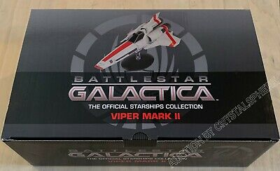 Eaglemoss Battlestar Galactica - Viper Mark II (2004) w/ Collector Magazine #1
