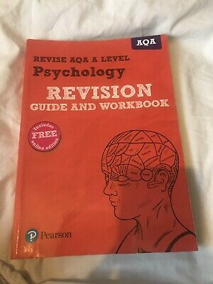 Revise AQA A Level Psychology Revision Guide and Workbook: (with free online