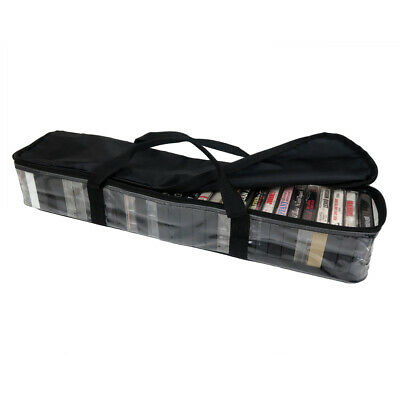Evelots Cassette Tape Bag-Organizer-Carrier-Storage-Dust,Moisture Free