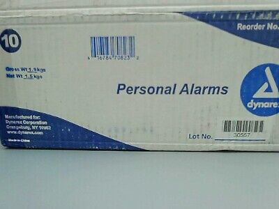 Dynarex 7082 Magnetic fall Personal Alarms 10 ct