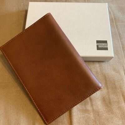 American Express Card Holders Leather Passport Case Novelty