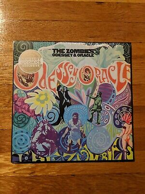 The Zombies Odessey and Oracle LP Technicolor Explosion Colored Newbury Vinyl