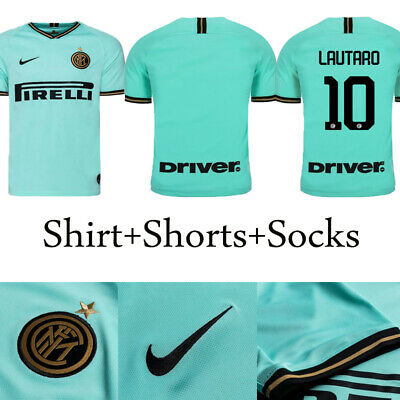 2019-2020 Football Kits Soccer Suits Kids Adults Jersey Strip Sports Outfit+Sock