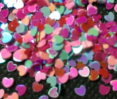 Weddings Parties Table Decorations Valentines D Heart Confetti Sequins 5 Grams