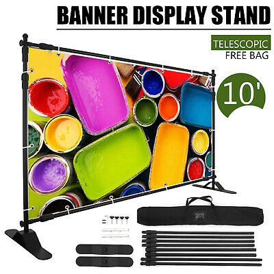 10 Banner Stand Display Changeable Display Reuseable Portable Step And Repeat