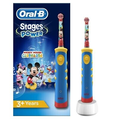 Oral-B Brosse à dents électrique - Stages Power Kids Mickey Mouse rechargeable