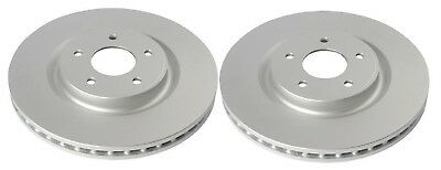 2x Front Brake Discs for Nissan X-Trail TEKNA DCI T32_ 1.6 ALL Mode 4x4 2014->