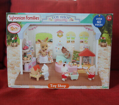 Sylvanian Families TOY SHOP Epoch UK 5050 Calico Critters