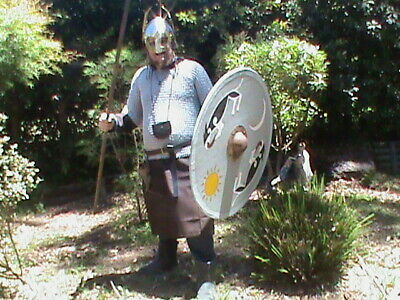 Sutton Hoo Helm Shield Chainmail Set