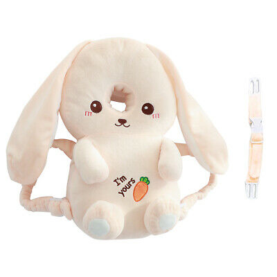 Infant Baby Walking Head Back Protection Cute Rabbit Protector Safety Pillow Pad