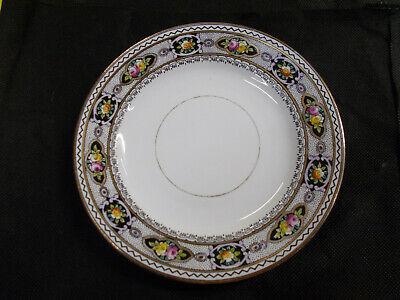 LOVELY ROYAL STAFFORD PLATE ENGLISH BONE CHINA MADE IN ENGLAND 17 1/4 cm W # 521