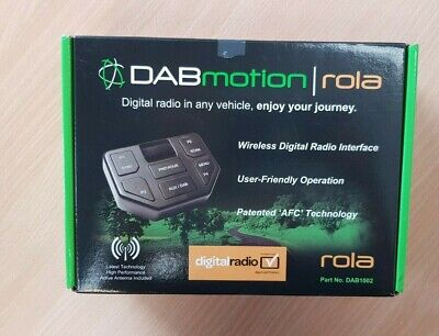 DAB Motion - Digital Radio Interface