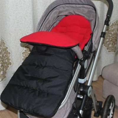 Baby Sleeping Bag Windproof Warm Foot Cover Cotton Portable Stroller Cushion