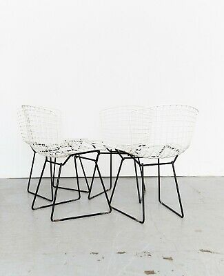 Harry Bertoia Wire Chair #420 for Knoll International I Set of Four