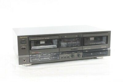 Doppelkasettendeck Technics Rs-Tr 255 Double Tapedeck Stereo Great Condition