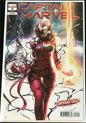 Captain Marvel #8 InHyuk Lee Carnage-ized Variant - Marvel 2019 1st Print VF/NM