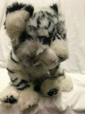 "WowWee 15"" White Siberian Tiger Cub Interactive with Sound and Motion Rare Item"