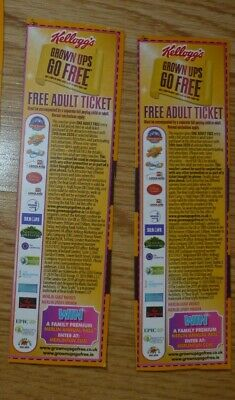 2 for 1 Vouchers ALTON TOWERS London Eye SEALIFE Legoland THORPE PARK Blackpool