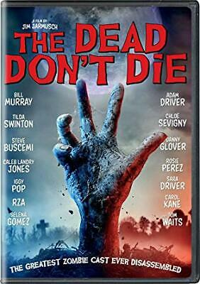 The Dead Don't Die DVD Fast Shipping New 2019
