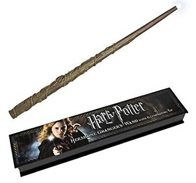 Hermione Granger Illuminating Wand The Noble Collection Harry Potter